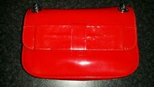 LULU GUINNESS Anna red patent leather cross body bag with bow new with tags.