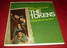 THE TOKENS 33RPM LP IT'S A HAPPENING WORLD ROCK POP SEALED WB RECORDS