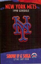 1998 New York Mets Team Schedule Finlay Sports
