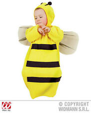 Baby Bumble Bee Bonnet And Bib Insect Wasp Fancy Dress Costume