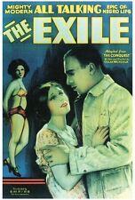 THE EXILE Movie POSTER 27x40 Eunice Brooks Stanley Morrell Celeste Cole Kathleen