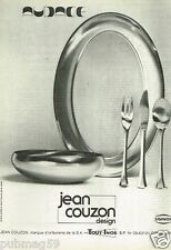 Publicité advertising 1973 Orfèvre Jean Couzon