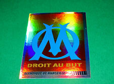 N°235 BADGE ECUSSON OLYMPIQUE MARSEILLE OM PANINI FOOT 2009 FOOTBALL 2008-2009