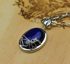 Vintage The Vampire Diaries Katherine Anti-sunlight Lapis Lazuli Necklace Hot