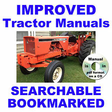 Allis Chalmers 720 TRACTOR FACTORY SERVICE MANUAL & PARTS MANUAL -2- MANUALS CD
