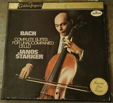 "Album By Janos Starker, ""Bach: Complete Suites For Unaccompanied Cello"" on Mercu"