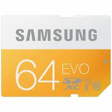 Samsung EVO 64GB SDXC SD Memory Card Class10 UHS-I 48MB/s MB-SP16D for Canon
