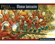 Warlord Games: Pike & Shotte, Ottoman Janissaries [24 Figs] 28mm