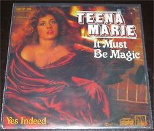 "Teena Marie, It must be magic, VG/VG++ 7"" Single 0851-7"