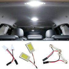 2X Xenon COB LED Dome / Map Light Bulb Car Interior Panel Lamp #XD03