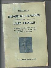 histoire de l'expansion de l'art Français belgique et hollande Suisse...