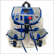 Star Wars R2D2 R2-D2 Costume Cosplay School Knapsack Backpack Book Bag Licensed