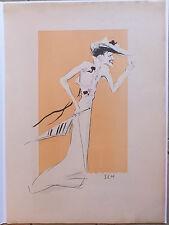 Sem Goursat lithographie Wanda de Boncza Début XXème siècle