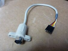 PS/2 BREAKOUT to 4-PIN MINI-DIN PS/2 CONNECTOR ADAPTER CABLE CONVERTER