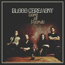 BLOOD CEREMONY - Lord of Misrule LP GOLD & BLACK VINYL 250 - Rise Above Records