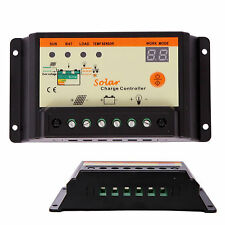 10A Solar Charge Controller 12V/24V PWM Battery Regulator Light & Time Control