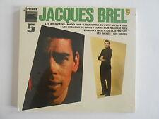 """JACQUES BREL : VOL. 5 """"LES BOURGEOIS"""" - [ CD ALBUM NEUF ] --  PORT GRATUIT"""