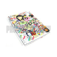 Tokidoki Discoteca Notebook Notepad Journal Diary Blank Pages Book Planner TKDK