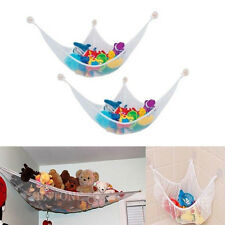 New White Baby Organizer Hanging Toy Net Hammock Stuffed Plush Doll Storage Bags