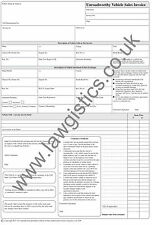 Legally Compliant - Unroadworthy Vehicle Invoice Pad - selling unroadworthy cars