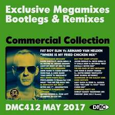 DMC Commercial Collection 412 Club Hits Mixes & Two Trackers DJ Triple Music CD