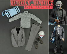 1/6 Joker Bank Robber Outfit Accessories Full Set For HotToys Body SHIP FROM USA