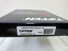 "New Tiffen 4x5.65"" Pearlescent 1/2 Glass Filter Schneider Filters Panavision PV"