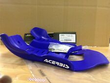 YAMAHA  YZ 250  2005-2017 ACERBIS MX PLASTIC SKID GLIDE PLATE SUMP GUARD BLUE