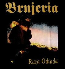 BRUJERIA cd cvr RAZA ODIADA Official SHIRT XL New fear factory asesino