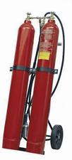 60kg CO2 Feuerlöscher Kohlendioxid Löschwagen Jockel KS60J fahrbar