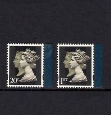 GB 2009 sg2955-6 Treasure Of The Archive - Double Head Machins 20p 1st - MNH