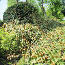 Military Camouflage Net Woodlands Leaves 2M X 4M Camo Cover For Hunting Camping