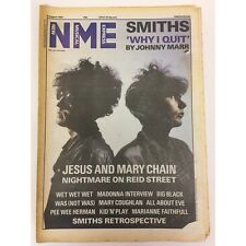 NEW MUSICAL EXPRESS NME MAGAZINE 8 AUGUST 1987 NPBOX0063 JESUS AND MARY CHAIN LS