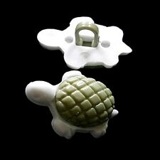 15 Tortoise Turtle Sea Land Creatures Craft Scrapbooking Sewing Buttons K720