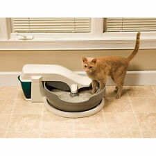 Best Self Cleaning Automatic Cat Litterbox Kitty Liter Litter Box Pet Furniture