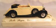Solida Rolls Royce Cabriolet 4077 Die Cast Model Car Mounted No Plastic Case