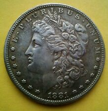 1881 morgan usa dollar crown coin rare