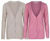 Marks & Spencer Womens Long Sleeve Button Cardigan New Soft Knit M&S Cardie Top