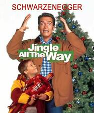 JINGLE ALL THE WAY Movie POSTER 27x40 C Arnold Schwarzenegger Phil Hartman