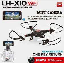 LH-X10WF 2.4G 4CH 6Axis GYRO WiFi w/Live Camera Support IOS/Android Quad Copter