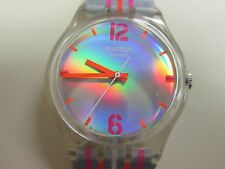 """!!! BEAUTIFUL !!! 2005 """"EIGHT STRIPES"""" GE150 SWATCH (#171) FREE SHIP/BATTERY!"""
