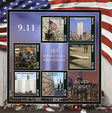 Nevis 2016 MNH 11th September 15th Memorial 6v M/S New York Architecture Stamps