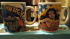 Geek Fuel Exclusive Set of 2 Coffee Cups Mugs Batman & Wonder Woman
