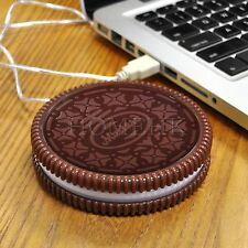 USB Cookie Cup Warmer Hot Tea Coffee chocolate Beverage Mug Warm heater office