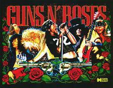 Data east guns 'n' roses flipper cabinet light mod rouge