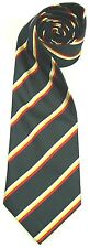ROYAL SCOTS DRAGOON GUARDS WOVEN SILK STRIPE  UK MADE MILITARY TIE