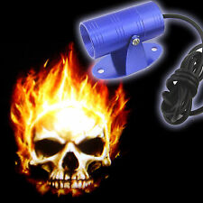 Universal Ghost Rider Skull Logo LED Laser For Royal Enfield Bullet 500