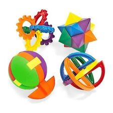 12 - 3-D Plastic Combination Puzzle Balls - Birthday Party Carnival Cube