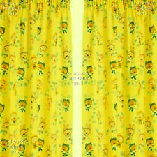 CBBC WAYBULOO CURTAINS 66 WIDTH X 54 DROP CBEEBIES PRE SCHOOL CHILDRENS BEDROOM