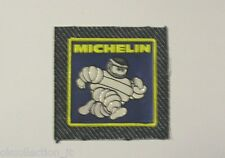 VECCHIO ADESIVO AUTO MOTO / Old Sticker OMINO MICHELIN in stoffa (cm 6,5 x 6,5)